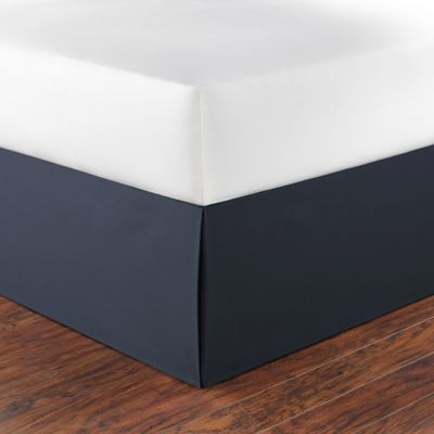 Nautica® Tailored Twin Bed Skirt in Navy