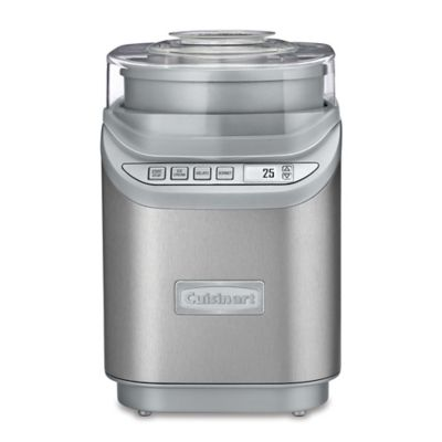 Cuisinart® Electronic Ice Cream Maker in Silver