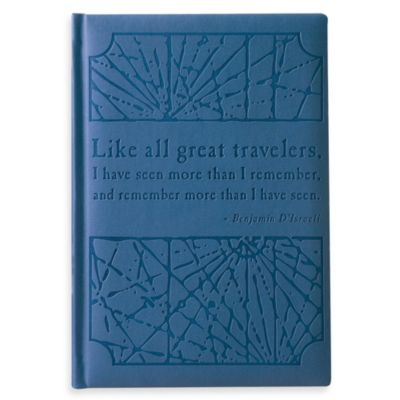 Eccolo™ D'Israeli Travelers Journal