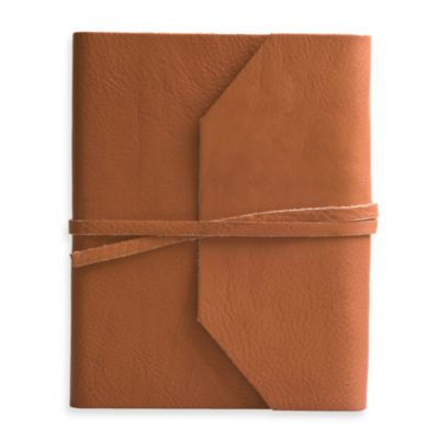 Eccolo™ Tan Wrap Journal