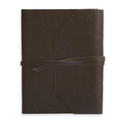 Eccolo™ Black Wrap Journal