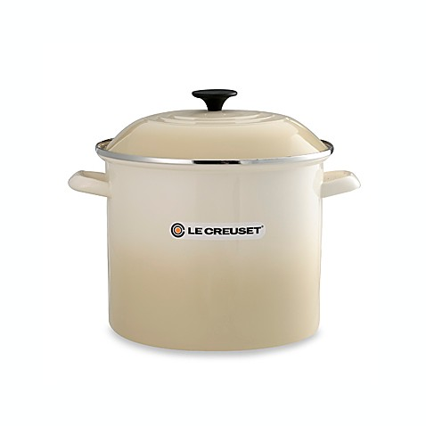 Le Creuset® 12 qt. Stockpot in White