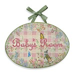 Girl Baby's Room Wall Plaque