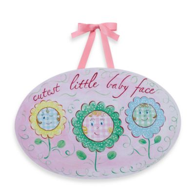 Cutest Little Baby Face Wall Plaque