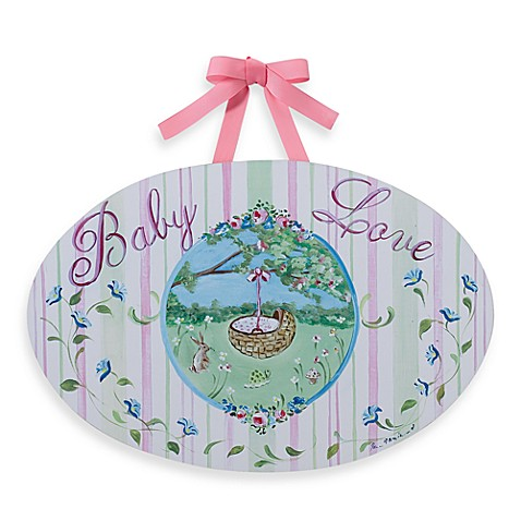 Baby Love Wall Plaque