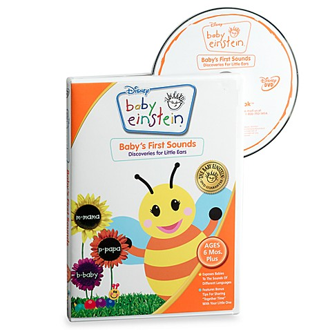Baby Einstein Baby S First Sounds Dvd Buybuy Baby