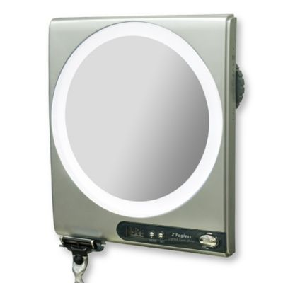 Z' Fogless™ 5X/1X Power Zoom Lighted Shower Mirror