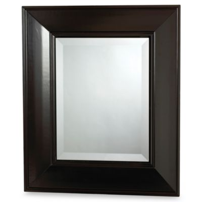 Espresso Concave Frame Medicine Cabinet