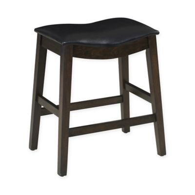Buy Ampersand 174 24 Inch Padded Saddle Stool From Bed Bath