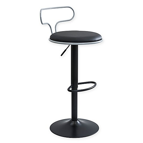 Buy Lumisource Contour Contemporary Adjustable Barstool In
