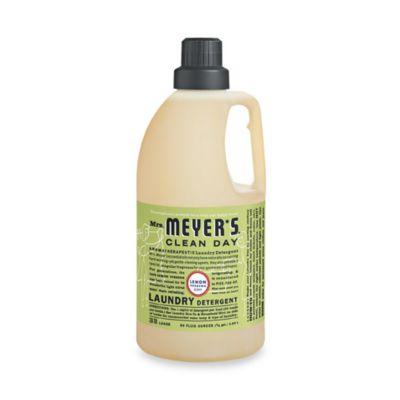 Mrs. Meyer's® Clean Day Aromatherapeutic Lemon Verbena 64-Ounce Laundry Detergent