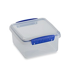 Sistema® KLIP IT® 1.2-Liter Lunch Plus Food Storage Container
