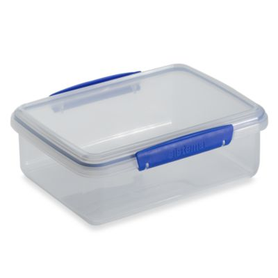 KLIP IT™ 2-Liter Rectangular Food Storage Container