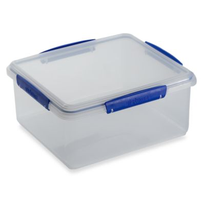 Sistema® KLIP IT® 5-Liter Rectangular Food Storage Container