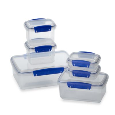 Sistema® KLIP IT® Value Pack Lunch Storage Containers (Set of 6)