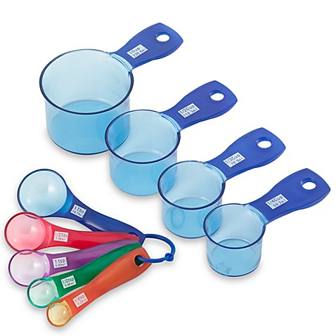 Myplace® Measure 'n Mix Measuring Cups and Spoons (9-Piece Set)
