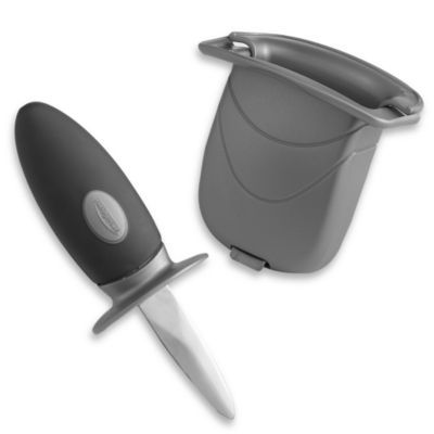 Trudeau Oyster 2-Piece Knife and Case Set
