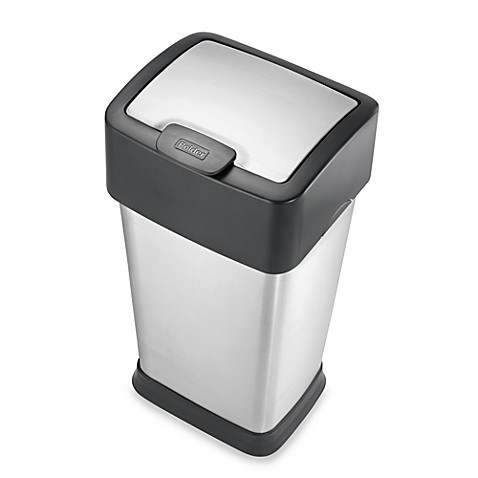 Polder® 10 1/2-Gallon Square Trash Can