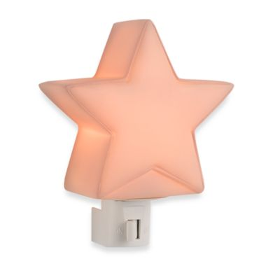 kidsline™ Star Night Light in Pink