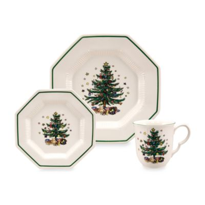 Nikko Christmastime 12-Piece Place Setting
