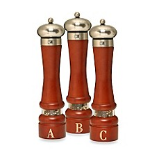 Monogrammed Pepper Mills by William Bounds LTD