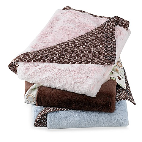Carter's® Everyday Easy Fur with Satin Blanket