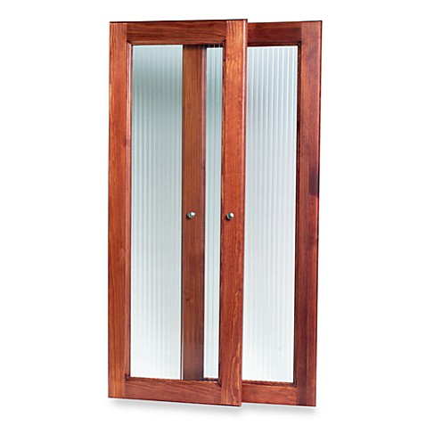 John Louis Home Red Mahogany Tower Door Kit