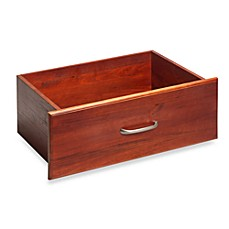 John Louis Home Red Mahogany 10-Inch Deep Deluxe Drawer Kit