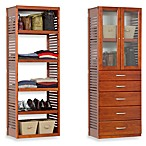 John Louis Home Red Mahogany 16-Inch Deep Deluxe Tower Kit