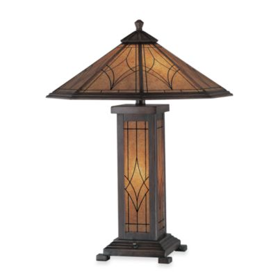Lite Source Dessa Bronze Finish Table Lamp