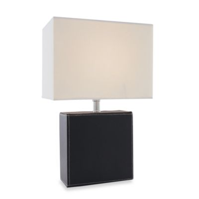 Leandra Black Table Lamp