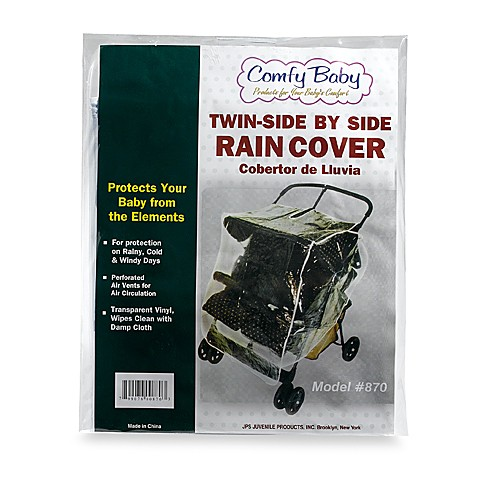Comfy Baby Twin/Side by Side Stroller Rain Cover