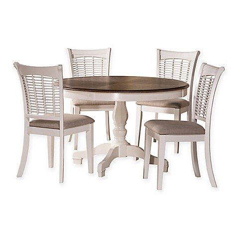 Hillsdale Bayberry 5 Piece Round Dining Sets