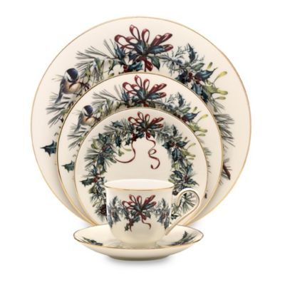 Lenox Winter Greetings™ 5-Piece Place Setting