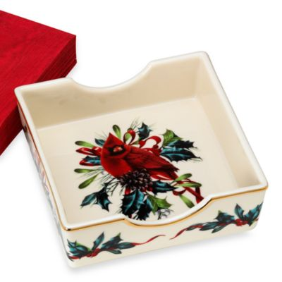 Lenox® Winter Greetings® Napkin Holder