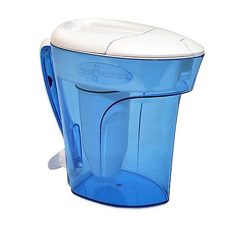 Zerowater 12 Cup Ready Pour Pitcher Www Bedbathandbeyond Com