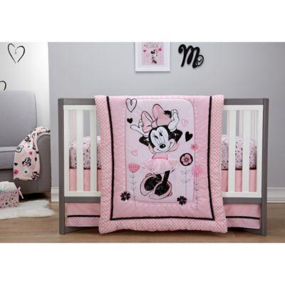 Disney® Minnie Mouse Hello Gorgeous 3-Piece Crib Bedding Set