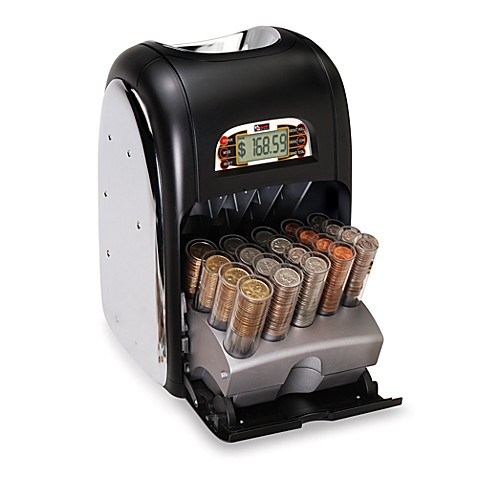 Buy roll master clxx professional grade digital coin sorter from bed bath beyond - Coin sorting piggy bank ...