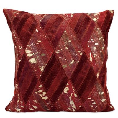Buy Red Burgundy Throw Pillow from Bed Bath & Beyond