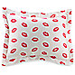 Sin in Linen™ Kissing Lips Standard Sham