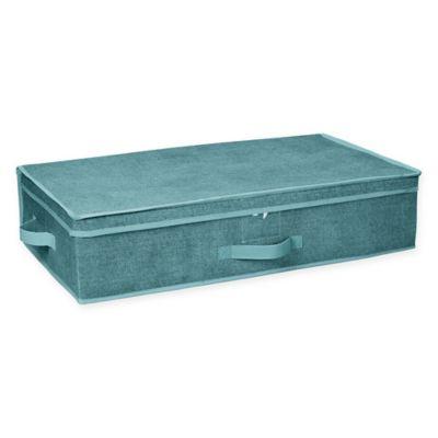 Zippered Storage Box
