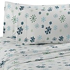 Microloft Snowflake Full Sheet Set