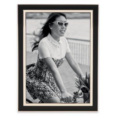 kate spade new york Portland Place™ 5-Inch x 7-Inch Frame in Black/Cream