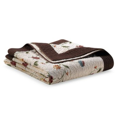 Ambria Chocolate Full/Queen Quilt