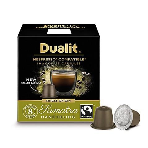 Buy dualit 60 count nx origins sumatra mandheling for Porte 60 capsules nespresso