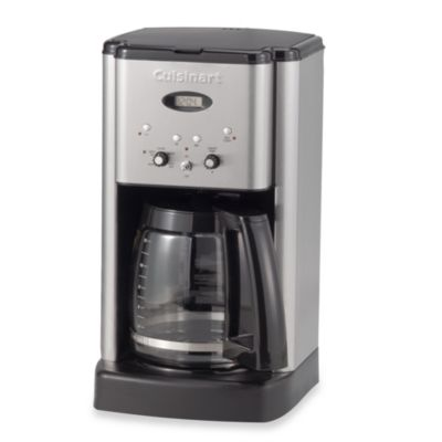 Cuisinart Coffee Maker Erl : Cuisinart Brew Central 12-Cup Programmable Coffee Maker in Black - www.BedBathandBeyond.ca