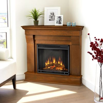 Real Flame® Chateau Corner Electric Fireplace in Espresso