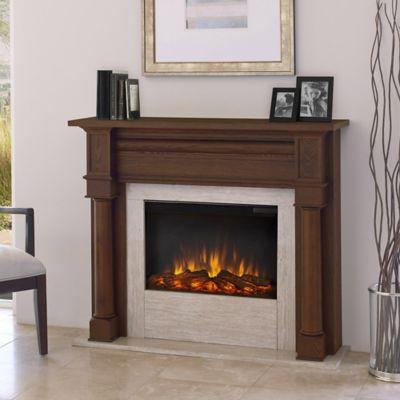 Real Flame® Berkeley Electric Fireplace in Chestnut Oak