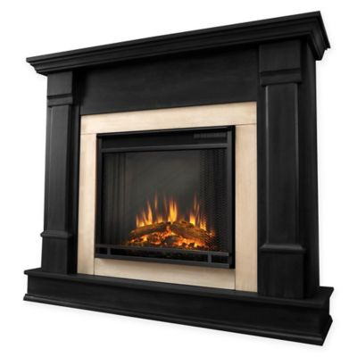 Buy Real Flame Hudson Electric Fireplace In Black From Bed Bath Beyond