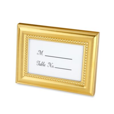 Kate Aspen® Beaded Place Card Holder/Photo Frame